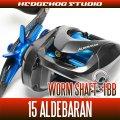 【シマノ】15アルデバラン用 ウォームシャフトベアリング(+1BB)
