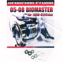05バイオマスター,06バイオマスターMg,08バイオマスター用 ラインローラー2BB仕様チューニングキット Ver.1 (2004年〜2010年モデル対応)