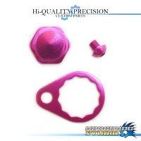 【シマノ用】ハンドルロックナットセット B-type ピンク