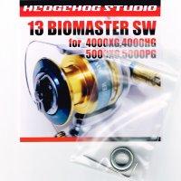 13バイオマスターSW 4000XG,4000HG,5000XG,5000PG用 スプールシャフト1BB仕様チューニングキット Lサイズ