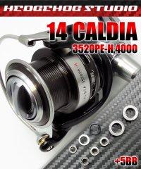 14カルディア 3520PE-H,4000用 MAX11BB フルベアリングチューニングキット