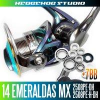 14エメラルダスMX 2508PE-DH,2508PE-H-DH用 MAX13BB フルベアリングチューニングキット