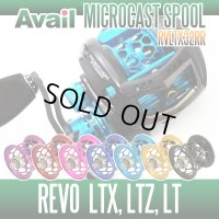 Abu Revo LTX・LTZ・LT用 軽量浅溝スプール Avail Microcast Spool RVLTX32RR