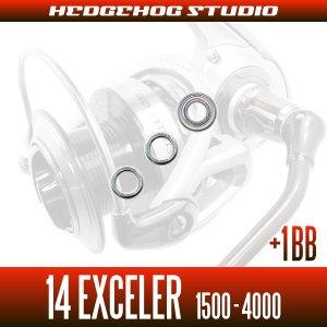 画像2: 14エクセラー 1500,2004,2004H,2500,2506,2506H,3000,3000H,3012H,3500,4000用 MAX5BB フルベアリングチューニングキット