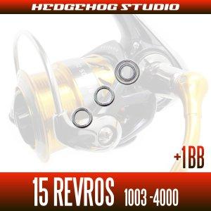 画像2: 15レブロス 1003,2000,2004,2004H,2004H-DH,2500,2506,2506H,2506H-DH,3000,3012H,3500,4000用 MAX5BB フルベアリングチューニングキット