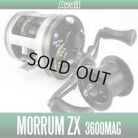 【新製品】【Avail/アベイル】 Abu Morrum ZX3600MAG用 NEWマイクロキャストスプール ZXMG3648R ブラック