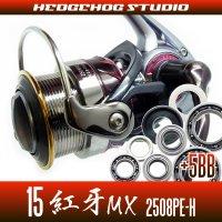 15紅牙MX 2508PE-H用 MAX11BB フルベアリングチューニングキット