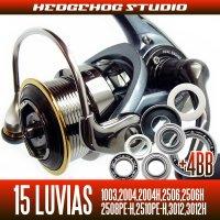 15ルビアス 1003,2004,2004H,2506,2506H,2508PE-H,2510PE-H,3012,3012H用 MAX12BB フルベアリングチューニングキット