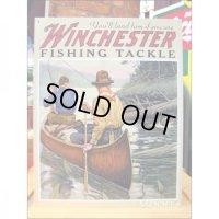 釣りグッズ・インテリア【アメリカンブリキ看板】ウィンチェスターフィッシングタックル 品番:BS008