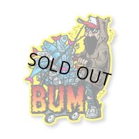 [BASSERS UNITED/バサーズユナイテッド] DROP OUT STICKER (code:BUM002)