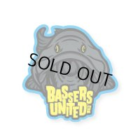 [BASSERS UNITED/バサーズユナイテッド] BUM DARK LOGO STICKER (code:BUM001)