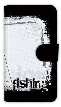 [アングラーズケース]【手帳型】fishing horizontal background (商品コード: diary2015110410)
