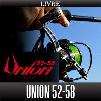 【リブレ/LIVRE】 Union (ユニオン) 52-58 【可変ピッチハンドル・スピニングリール用シングルハンドル】