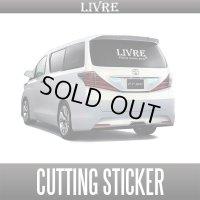 【リブレ/LIVRE】 カッティングステッカー
