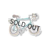 【B-SIDE LABEL/ビーサイドレーベル】タケイ自転車 (水色) 品番:BSL047