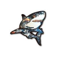 【B-SIDE LABEL/ビーサイドレーベル】sickサメ (黒) 品番:BSL050