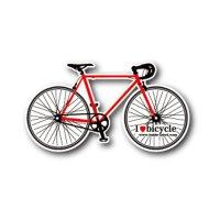 【B-SIDE LABEL/ビーサイドレーベル】自転車(赤) 品番:BSL041
