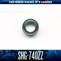 SHG-740ZZ 内径4mm×外径7mm×厚さ2.5mm シールドタイプ
