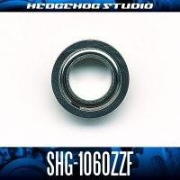 SHG-1060ZZF 内径6mm×外径10mm×厚さ3mm 外径11.2mmフランジ付き シールドタイプ