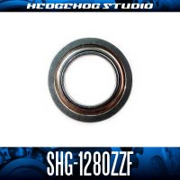 SHG-1280ZZF 内径8mm×外径12mm×厚さ3.5mm 外径13.6mmフランジ付き シールドタイプ