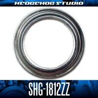 SHG-1812ZZ 内径12mm×外径18mm×厚さ4mm シールド