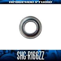 "SHG-R166ZZ 4.762mm×9.525mm×3.175mm (3/16""×3/8""×1/8"")"