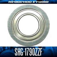 SHG-1790ZZF 内径9mm×外径17mm×厚み5mm 外径19mmフランジ付き シールドタイプ