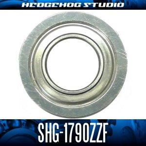 画像1: SHG-1790ZZF 内径9mm×外径17mm×厚み5mm 外径19mmフランジ付き シールドタイプ