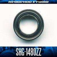 SHG-1480ZZ 内径8mm×外径14mm×厚さ4mm シールドタイプ