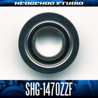 SHG-1470ZZF 内径7mm×外径14mm×厚さ5mm 外径16mmフランジ付き シールドタイプ