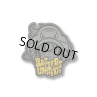 [BASSERS UNITED/バサーズユナイテッド] Fish LOGO Sticker [CAMO] (code:BUM006)