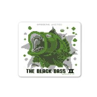 [BASSERS UNITED/バサーズユナイテッド] 8bit Bass Sticker (code:BUM007)