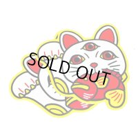 [BASSERS UNITED/バサーズユナイテッド] LUCKY CAT STICKER (code:BUM010)