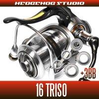 16トライソ 2000H-LBD,2500LBD,2500H-LBD,3000H-LBD用 MAX8BB フルベアリングチューニングキット