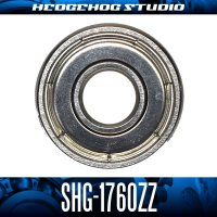 SHG-1760ZZ 内径6mm×外径17mm×厚さ6mm シールドタイプ
