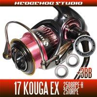 17紅牙EX 2508RPE-H,2510RPE用 MAX14BB フルベアリングチューニングキット