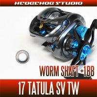 【ダイワ】17タトゥーラSV TW用 ウォームシャフトベアリング(+1BB)
