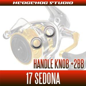 画像2: 17セドナ 1000-C5000XG用 ハンドルノブ2BB仕様チューニングキット (+2BB)