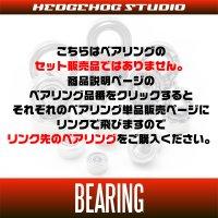 16ストラディックCI4+対応  オーバーホール用ベアリング バラ売り