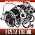 18カルディア LT6000D用 MAX10BB フルベアリングチューニングキット (ダイワ製スピニングリール)