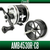 【Avail/アベイル】ABU アンバサダー 4500CB,4600CB対応 マイクロキャストスプール【AMB4530R-CB】