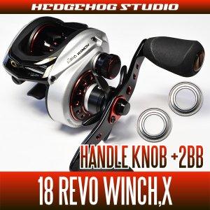 画像1: 【アブ】 18レボ ウィンチ・X用 ハンドルノブベアリングキット(+2BB)【Revo WINCH/X・バスフィッシング】