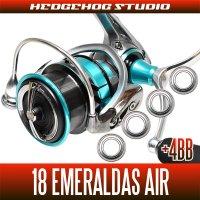 18エメラルダス AIR LT3000S-CXH-DH(ダブルハンドル)用 MAX13BB フルベアリングチューニングキット