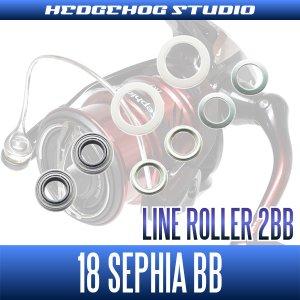 画像2: 18セフィアBB C3000S,C3000SHG,C3000SDH,C3000SDHHG番用 ラインローラー2BB仕様チューニングキット Ver.1