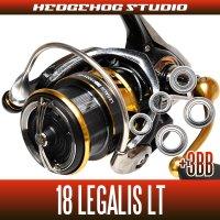 18レガリス LT1000S, LT2000S, LT2000S-XH, LT2500D, LT2500S-XH, LT3000D-C, LT3000-CXH, LT4000D-C, LT4000D-CXH, LT5000D-CXH(シングルハンドル)用 MAX8BB フルベアリングチューニングキット