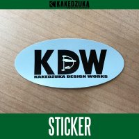 【カケヅカデザインワークス】KDW ロゴステッカー KDW-001