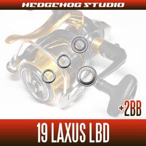 画像2: 19ラグザス LBD 2500LBD,2500H-LBD,3000LBD,3000H-LBD用 MAX8BB フルベアリングチューニングキット 【磯釣り・ウキフカセ釣り・グレ・メジナ】