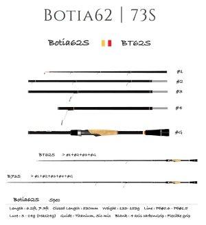 画像1: 【TRANSCENDENCE/トランスセンデンス】 Botia 62S+  / ボティア