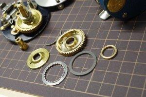 画像4: 【TRY-ANGLE】 BC420SSS・BC421SSS用ドラグクリッカーギヤセット