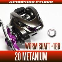 【シマノ】20メタニウム用 ウォームシャフトベアリングキット(+1BB)(バス釣り・バスフィッシング)